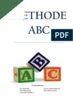 Rapport méthode ABC