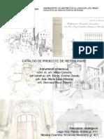 Catalog Proiecte Restaurare