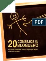 36778342 20 Consejos de Un Bloguero