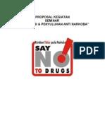Proposal Penyuluhan Narkoba