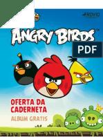 Caderneta Angry Birds