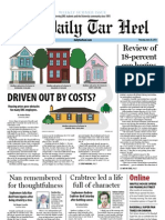 The Daily Tar Heel for June 20, 2013