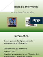 Introducción Informatica