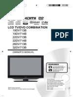 Toshiba LCD TV/DVD COMBINATION