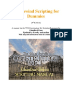 Morrowind Scripting for Dummies 9.0
