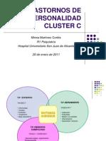 Trastornos Depersonalidad Cluster c[1]