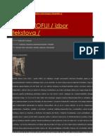 Ka Filozofiji - Izbor Tekstova