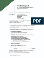 Irish ARRL RSGB Practice Paper PP1v4All