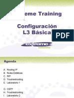 Extreme Networks B3 Configuracion L3 Basica