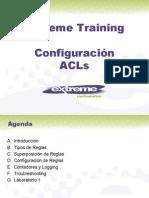 Extreme Networks B4 Configuracion ACLs Basica