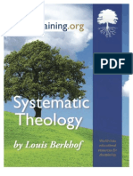 Systematic Theology (Louis Berkhof)