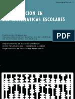 0008 - OEA - Monografía 1 -  La revolución en las matemáticas escolares