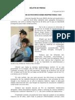 17/06/13 Germán Tenorio Vasconcelos PROTÉGETE PARA EVITAR INFECCIONES RESPIRATORIAS, SSO