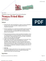 Nonya Fried Rice