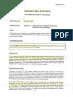 CHR Revised Budget 2007