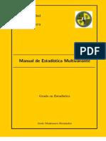 Manual de Estadística Multivariante
