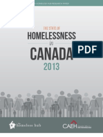 The State of Homelessness in Canada