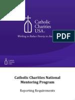 CCUSA National Mentoring Program - Program Reporting Webinar
