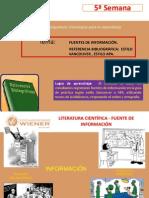 Semanaa.a .No05 Fuentes de Informacion - Referencias Bibliograficas Vancouver - Apa2012-1 -2