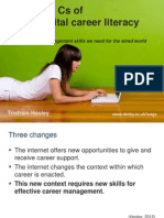 The Seven Cs of Digital Career Literacy