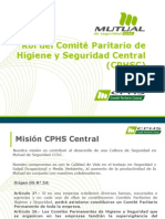 Programa de Trabajo Cphs