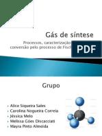 Gás de síntese (1)