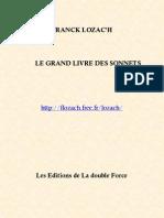 Franck Lozac'h Le Grand Livre Des Sonnets