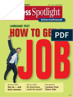 Business Spotlight - How to Get a Job