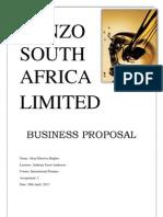 Ponzo Oil Company Proposal