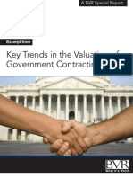 The Valuation of Government Contractors
