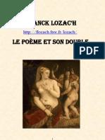 Franck Lozac'hLe poème et son double