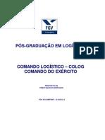 Pós-Graduação em Logística