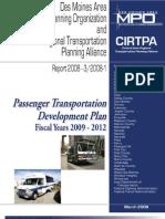 Passenger Transportation Plan 2009