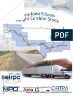 Trans-Iowa/Illinois Freight Corridor Study