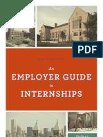 Internship Best Practices Employer Guide Sept 2012