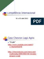 Ponto 5 - Competencia Internaciona -Abril2013