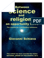 Between science and religion