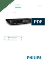 PHILIPS DVD DVP3800-55 -Manual de Usuario