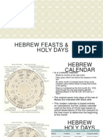 Hebrew Feasts
