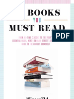 20 books you must read