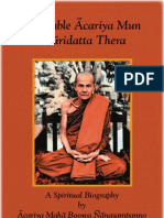 Biography of Acariya Mun Bhuridatta Thera