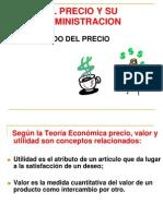 EL PRECIO Y SU ADMINISTRACIÓN (1)