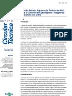 Estudo EMBRAPA_Nim Como Bioinseticida