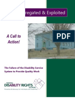 Segregated and Exploited National Disability Rights Network
