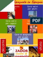 Corsi di Spagnolo in Spagna Ad Alicante e Vitoria