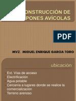 CONSTRUCCIÓN DE GALPONES AVÍCOLAS