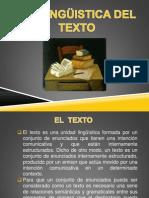 La Linguistica Del Texto