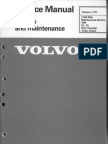 VOLVO 240, MANUAL (1) SERVICE AND MAINTAINCE