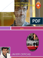 Biografia Javier Cercas