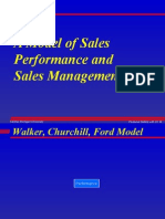 A Model of Sales Performance and Sales Management 19p
